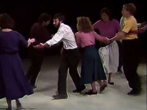 Contra Dance - Portland Country Dance Community - 1989