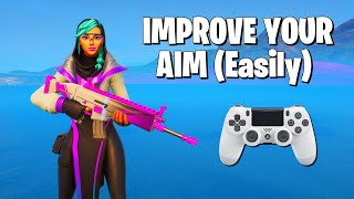 Fortnite Console Players NEED To Know This **Improve Your Fortnite Aim**