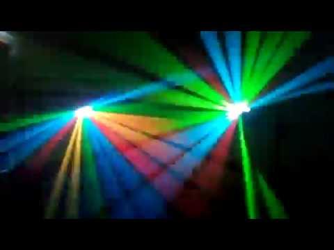 Show lasers 2 de sono light music a Calais , Licques , Boulogne sur mer 2018