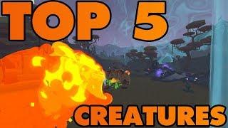 Top 5 Best Creatures In PIXARK!!!