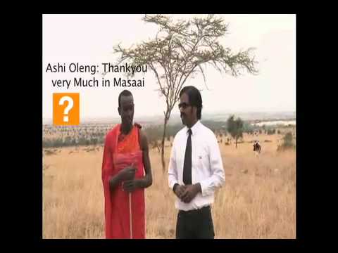 Wilbur in Kenya:  How to say Greetings in Maasai