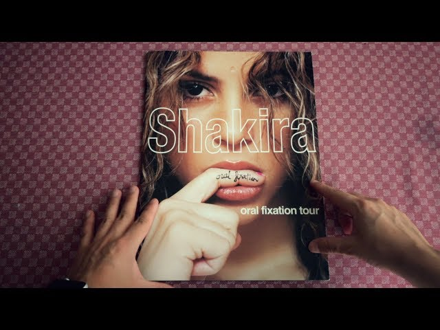 Unboxing | Shakira - Oral Fixation Tour Book