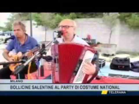 Milano Fashion Week: Costume National e Cantine Due Palme Telegiornale Telerama 14 30 30092015 2