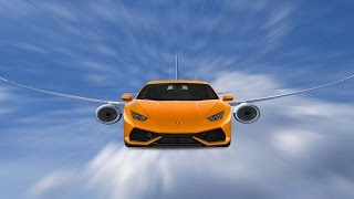 DEZE LAMBORGHINI KAN VLIEGEN !! | City Car Driving #6