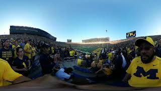 9.15.2018 - 360 Footage - Michigan vs SMU - 1 of