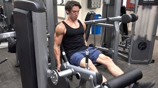 Full Leg & Abs Workout - Intermittent Fasting Training