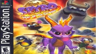 Spyro: Year of the Dragon Game Review (PS1) (2000) (HD gameplay)