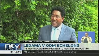 Senator Ledama Ole Kina de-whipped from Senate committee leadership