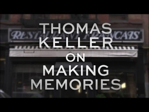 Chef Thomas Keller shares his thoughts on intimacy, connectivity and nurturing