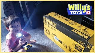 DEWALT 6-Tool 20-Volt Max Lithium Ion Cordless Combo Kit UNBOXING Set - Willy