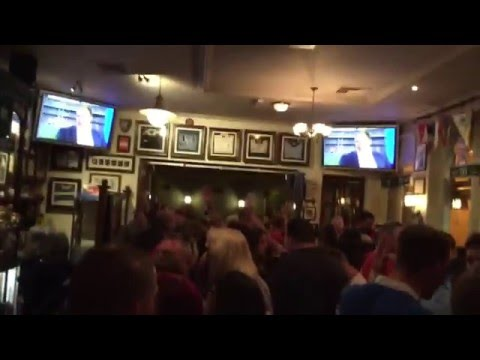 Hymns and Arias @ The Old Arcade Pub in Cardiff  .. that night, Wales beat the Englands