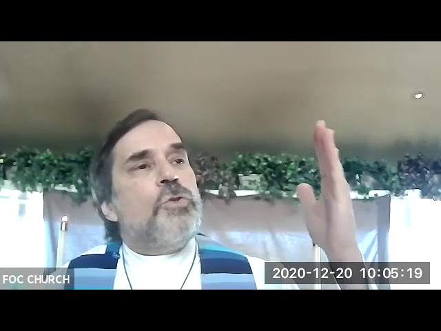 Sermon 12/20/2020 Fourth Sunday in Advent