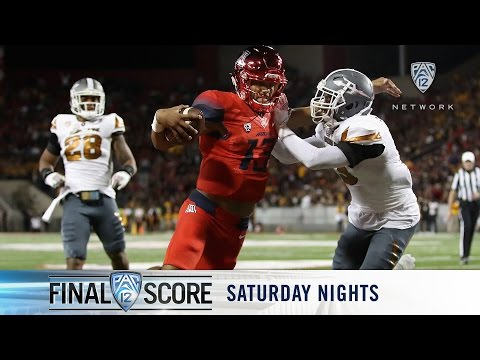 Highlights: Arizona football races away from Arizona State in record-setting fashion