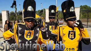 Alabama State Marching In 2018 vs TxSU