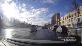 ДТП 28 03 2017 Санкт Петербург Лесной проспект 36