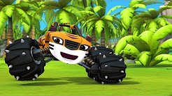 Blaze and the monster machines pickle power youtube for Blaze e le mega macchine youtube