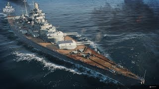 World of Warships  Ночной заход.2