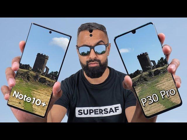 Galaxy Note 10 Plus vs Huawei P30 Pro Camera Test Comparison