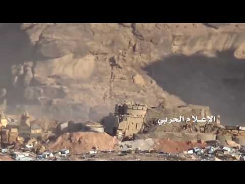 Yemeni Sniper vs Saudi Armoured Personnel Carrier