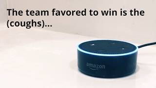 Super Bowl 2018: Alexa hedges prediction for who will win