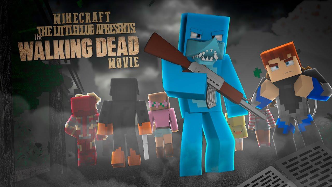 Minecraft MOVIE  – THE WALKING DEAD MOVIE