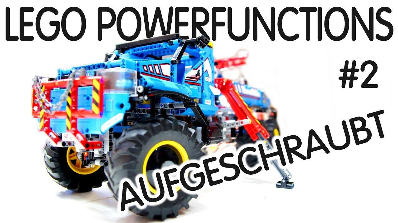 Lego Power Functions 2 Infrarot Aufgeschraubt Abschlepper