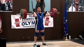 Dan Goeller Clean & Jerk 150kg