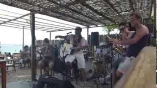 Sanráh e banda feat Sting do Arraial Tempos Modernos