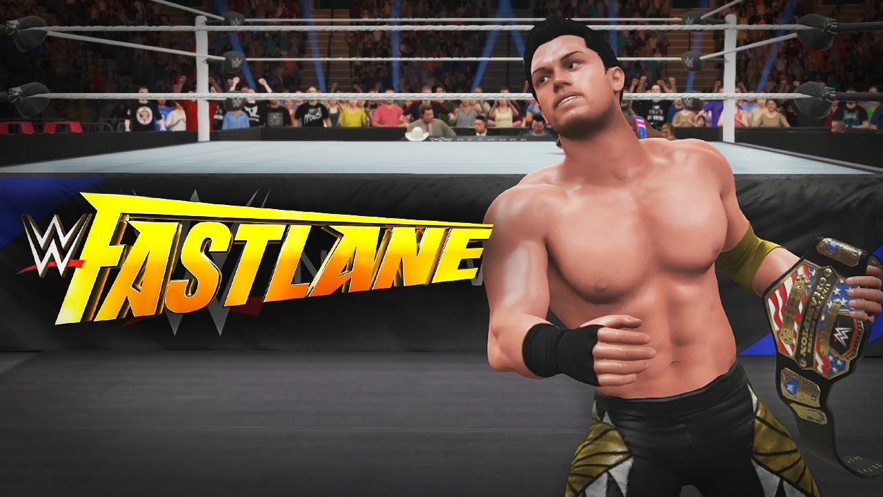 wwe 2k17 my career mode ep 44 fast lane ppv 2 matches title on the line youtube. Black Bedroom Furniture Sets. Home Design Ideas