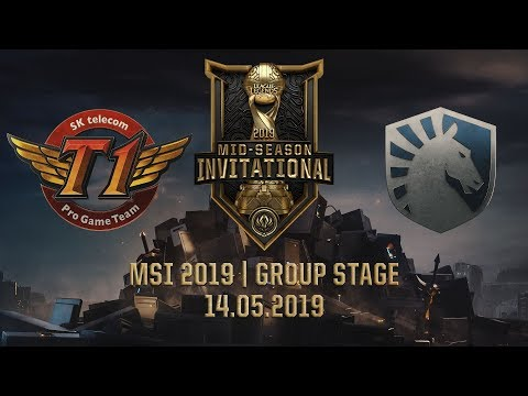 SKT vs TL [MSI 2019] [14.05.2019] [Group Stage]