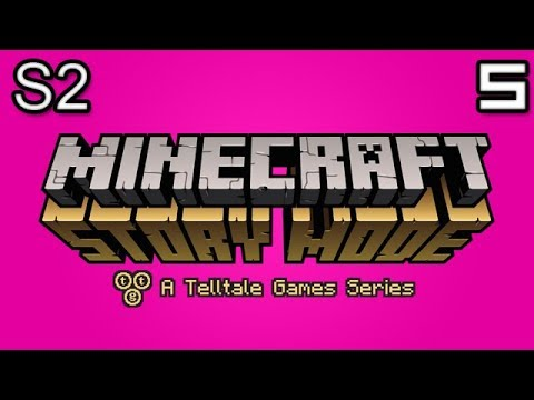 Minecraft Story Mode Let's Play: S2E2 Part 1 - GETTING REKT