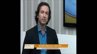 Especialista fala sobre reforma trabalhista - TV Catarina 28 de abril 2017