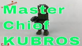 HALO Mega Bloks Master Chief Kubros Set