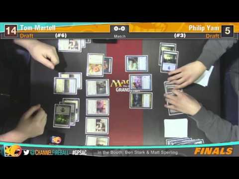 Grand Prix Sacramento 2014 Finals: Tom Martell vs. Philip Yam (Draft)