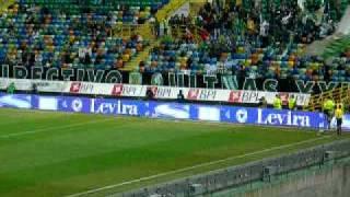 2008/02/09 Sporting Lisbon vs Maritimo@Estadio Jose Alvalade(Taca de Portugal)
