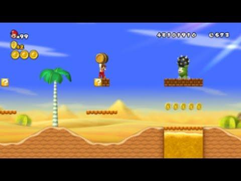 Desert Theme New Super Mario Bros Wii Easy Piano Solo Youtube
