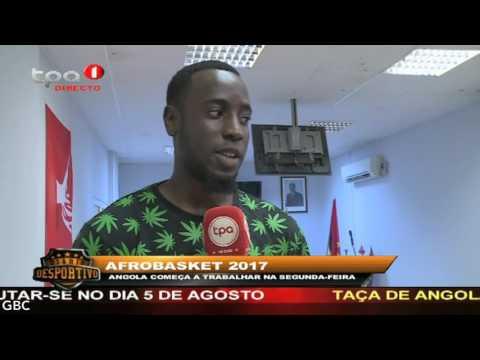"""Afrobasket 2017 """"Selecção nacional concentrada desde ontem"""""""