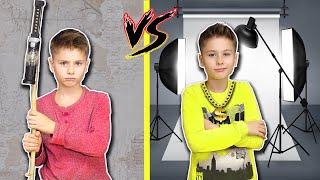Богатый БЛОГЕР VS Бедный ! БАБУШКА придумала Серёже новый Клип / Fast Sergey