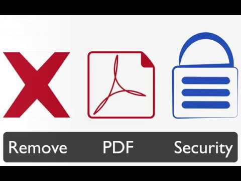 How To Remove Security Restrictions From A PDF File