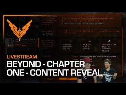 Elite Dangerous: Beyond - Chapter One Content Livestream - Part 1
