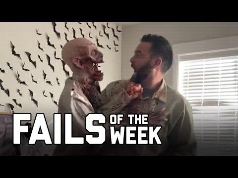 Boo! Spooky Zombie! Fails of the Week (November 2020)