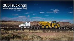 Trucking Pictures Featuring Oversize Loads