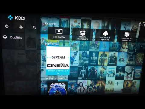 Kodi Stream Cinema CZ/SK Plug-in 1.3.23 Android TV