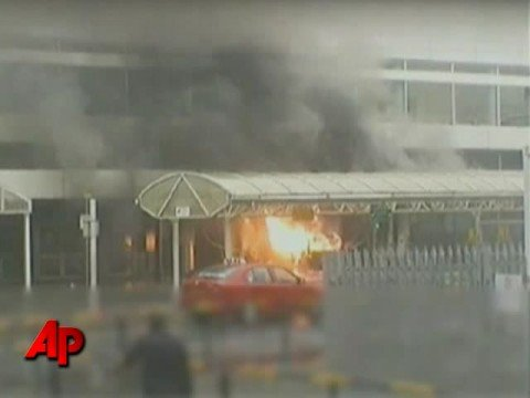 Raw Video: New Video of 2007 Airport Attack