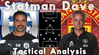 HUDDERSFIELD TOWN VS. MANCHESTER UNITED | TACTICAL ANALYSIS