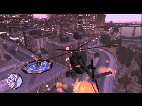 GTA IV - How To Get Secret Police Cars, Helicopter, And A Police Bike.
