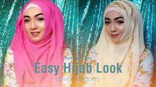 Summer Time Simple Easy Hijab Look | Pari ZaaD