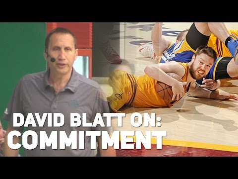 Basketball Motivation: David Blatt on Commitment - Matthew Dellavedova Story