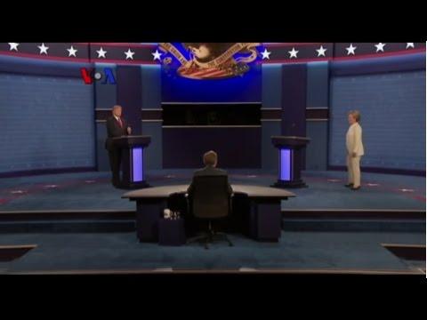 Rangkuman Debat Capres AS Ke-3 - Liputan Berita VOA