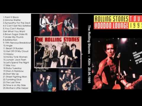 The Rolling Stones Greatest Hits Full Album[Live]_The Best Songs Of The Rolling Stones  Nonstop